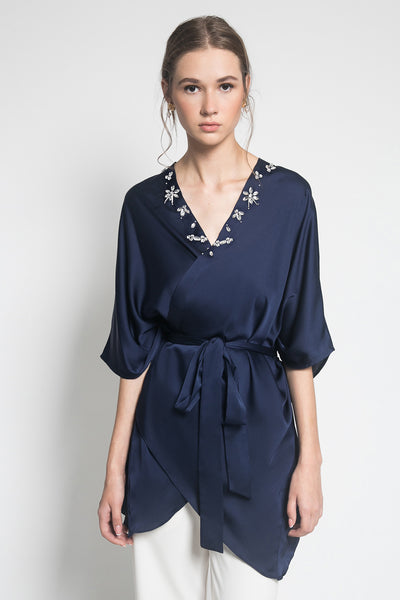 Embara Kalla Outer in Navy