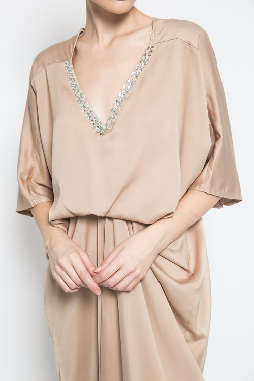 Layla Kaftan in Gold