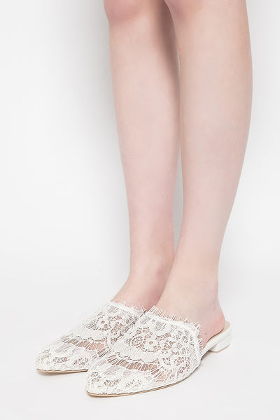 Sevil Shoes in White