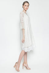 Lily Dress in White