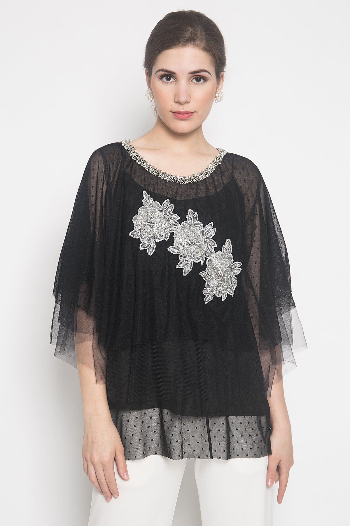 Iris Top in Black