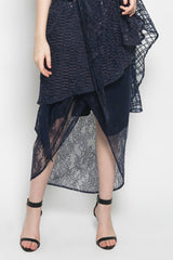 Izzie Asymmetric Lace Skirt