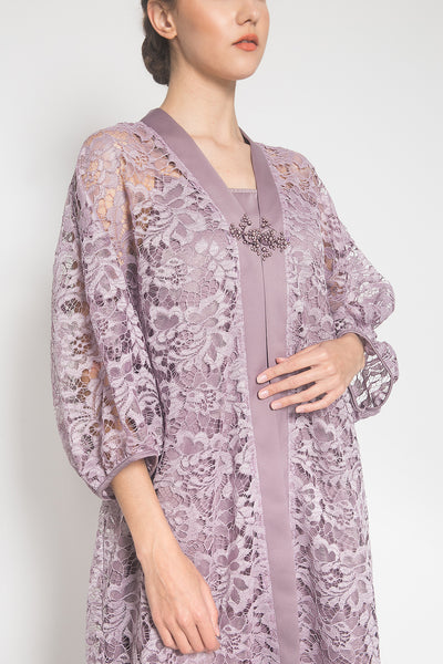 Rosé Relaxed Dress in Lilac