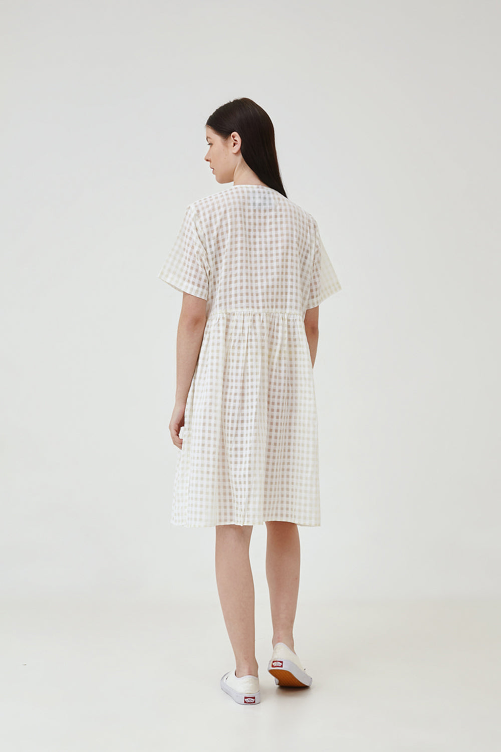 Mochi Dress in White