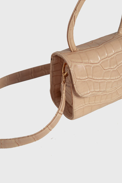 Blini Bag in Nude