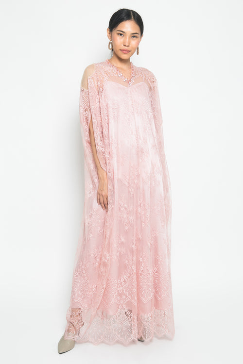 Isabelle Kaftan in Rose