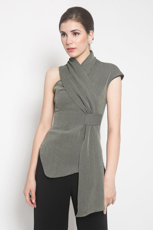 Ola Top in Grey