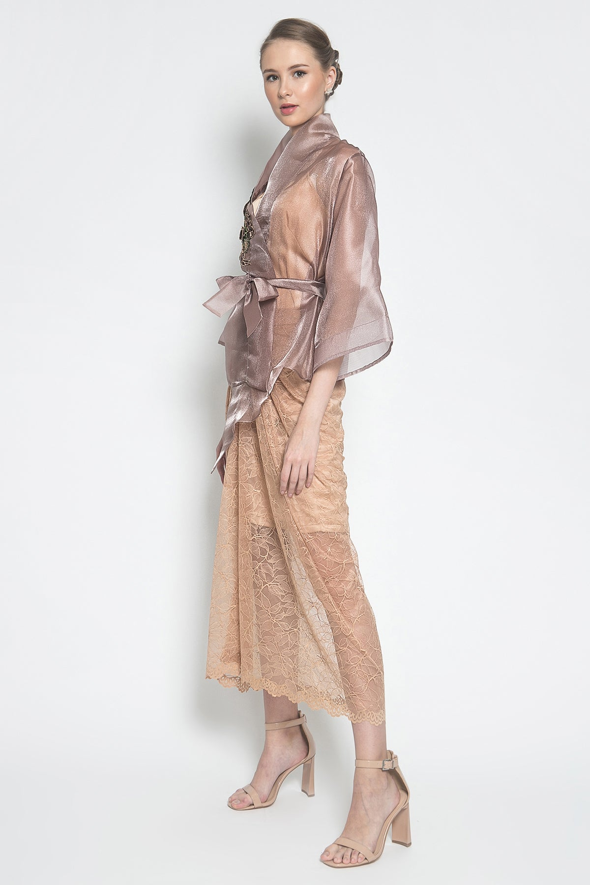 Rema Draper Skirt in Brown