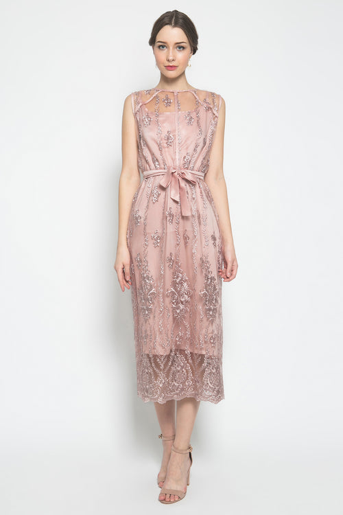 Mia Dress in Pink