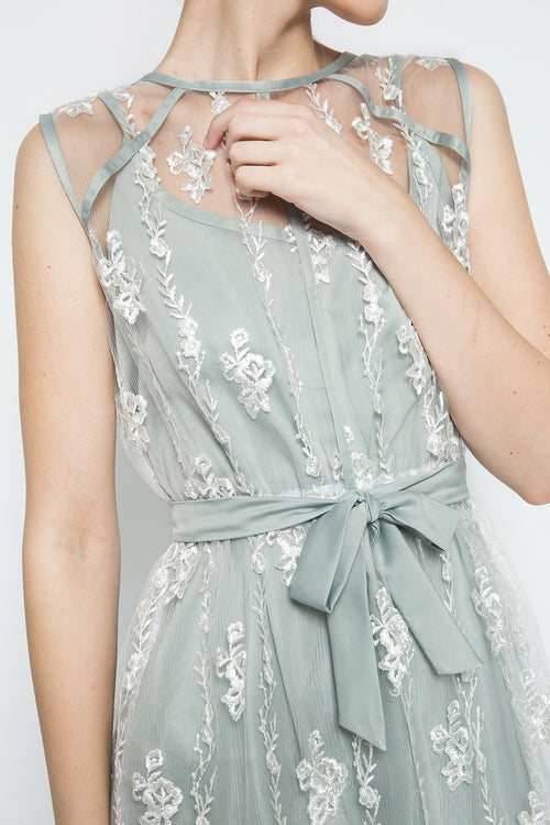 Mia Dress in Mint Green