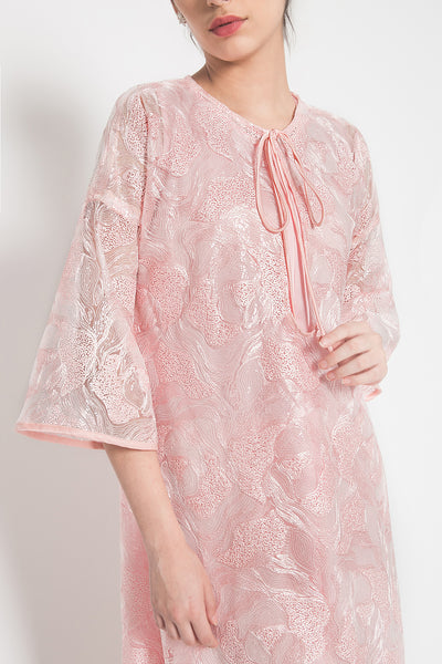 Roopa Sarala Dress in Dusty Pink