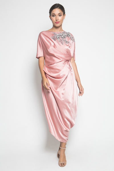 Jenni Austin Edith Kaftan in Dusty Pink