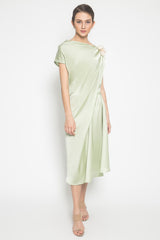 Harper Midi Dress in Mint