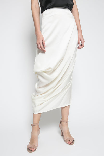 Jenni Austin Salome Skirt in Cream