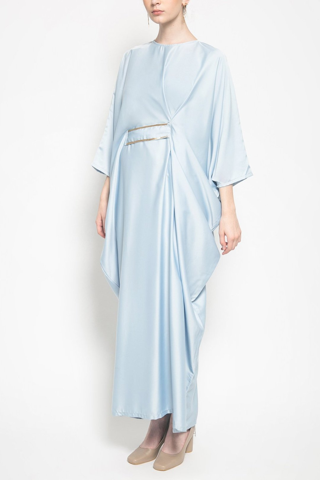 Geeta Kaftan in Sky Blue