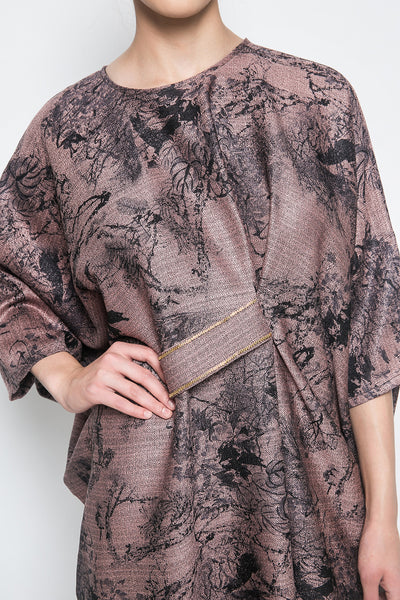 Geeta Kaftan in Copper