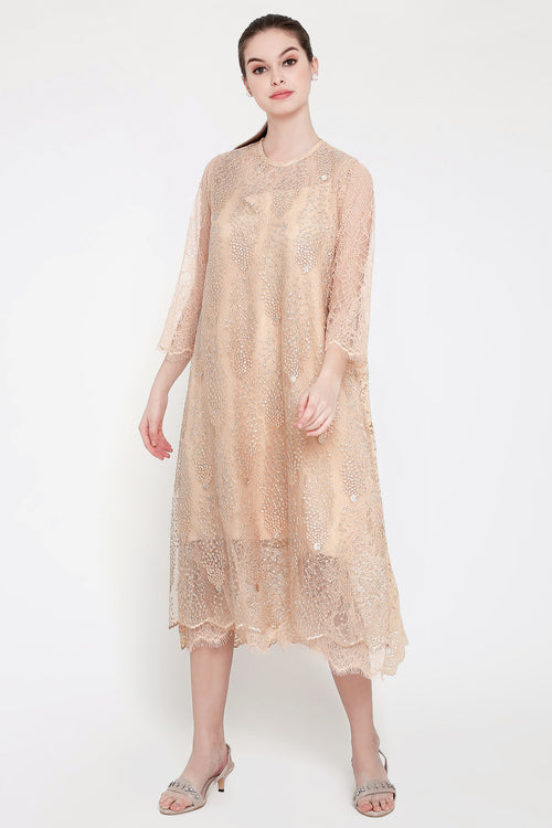 Goldstone Dress in Gold