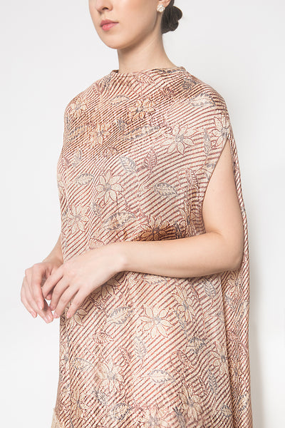 Capry Dress in Brown