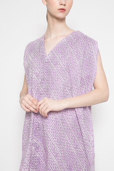 Clarissa Dress in Purple