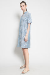 Sally Dress in Blue