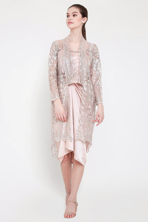 Kahyang Multiway Dress in Dusty Pink