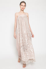 Long Mirae Dress in Pink