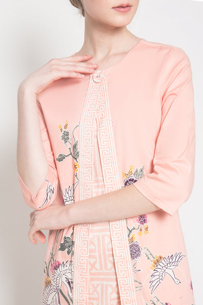 Ghea Dress in Soft Pink
