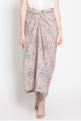Lilit Skirt in Creme Blue