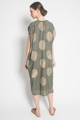 Suri Kafty Dress in Green