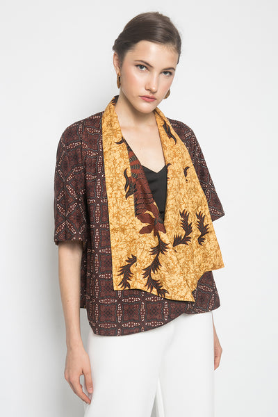 Kayen Becca Vest in Brown
