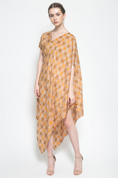 Symetry Dress in Bronze