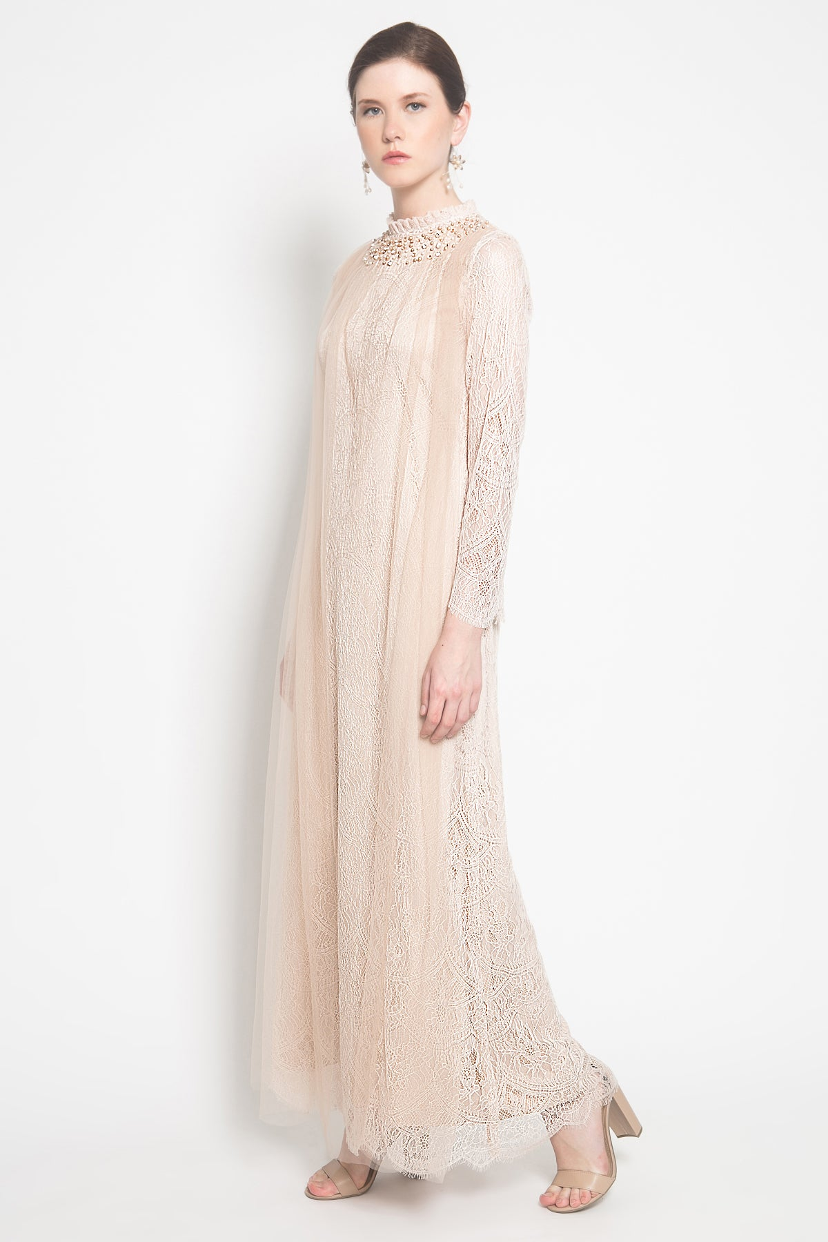 Arendelle Dress in Nude