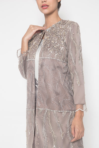 Jacquline Outer in Lilac Silver