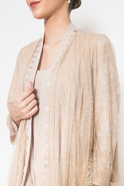 Aphrodite Outer in Nude Brown