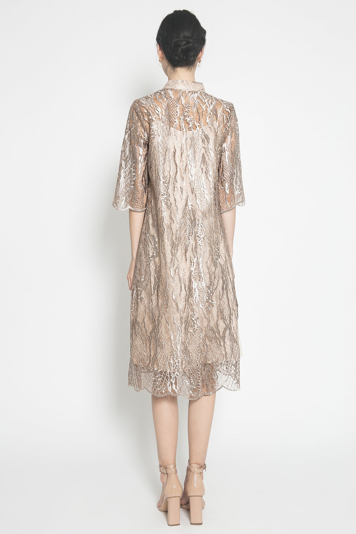 Amelie Dress in Gold