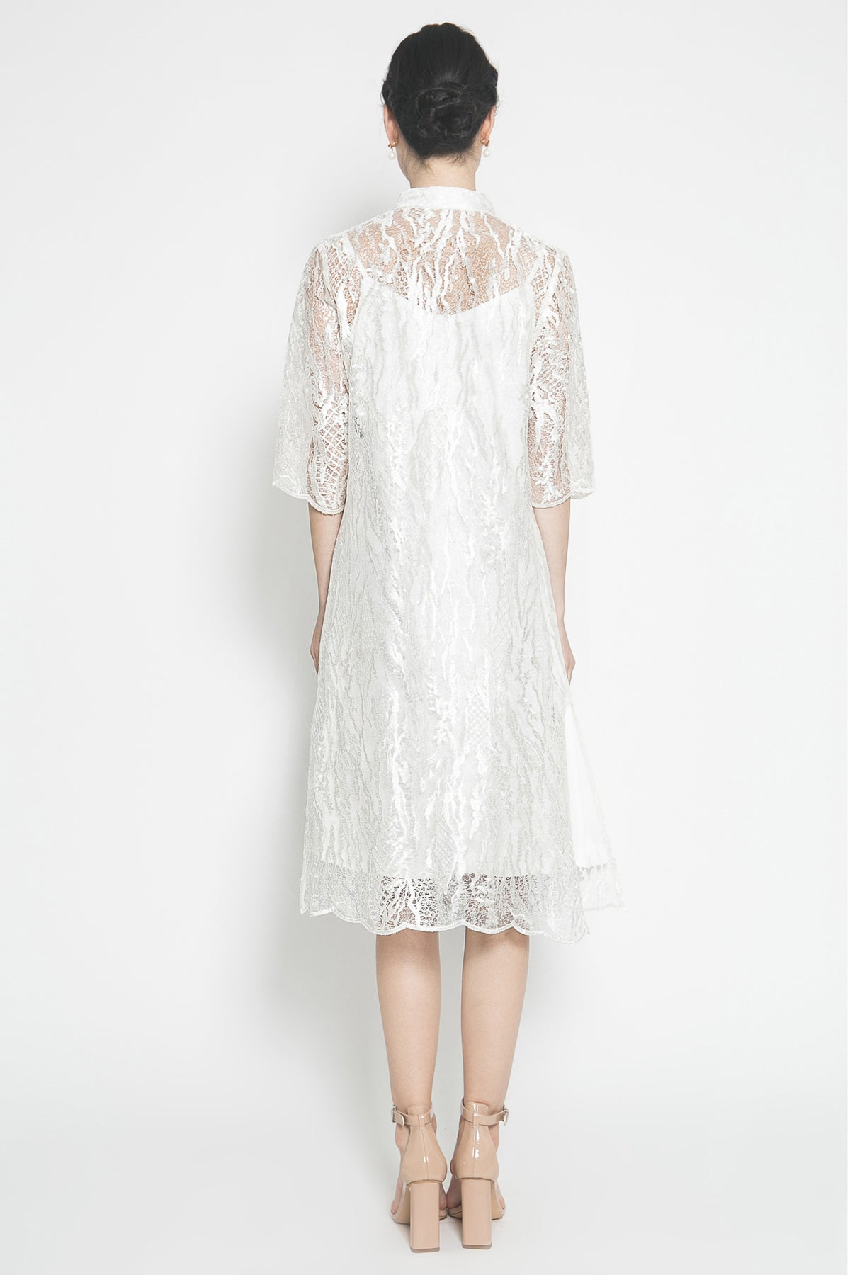 Amelie Dress in White