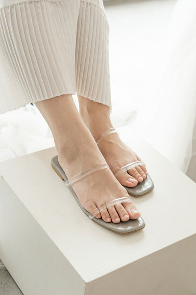 Kiara Sandals in Ash Grey