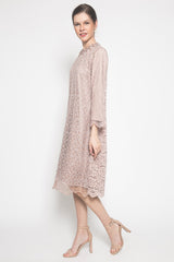 Galiss Dress in Dusty Pink