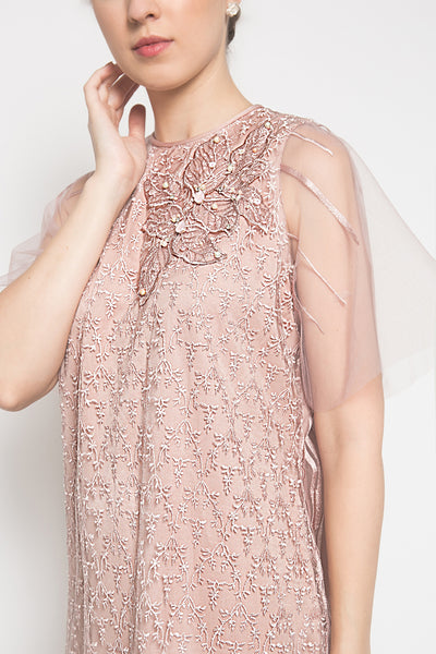 Jesslyn Dress in Baby Blush Pink