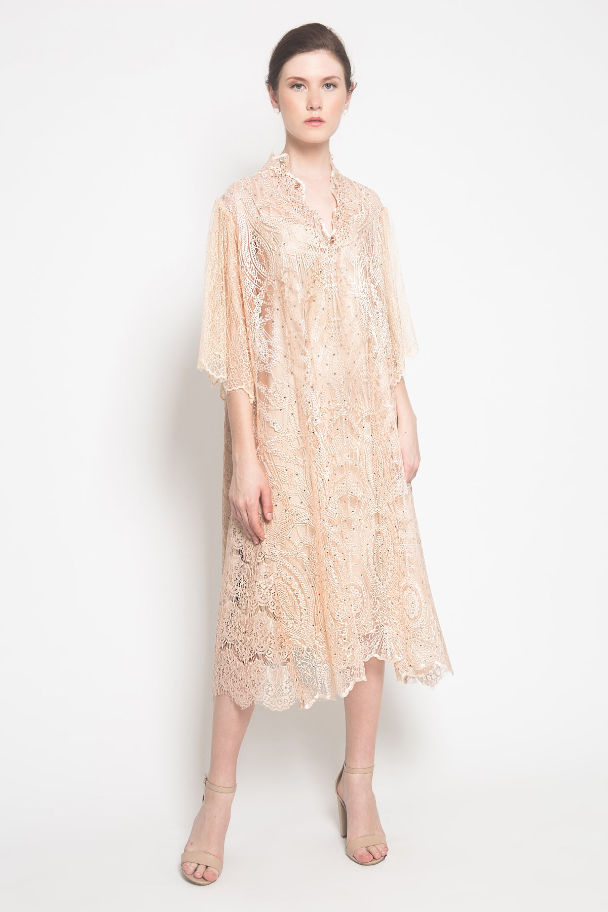 Zirma Dress in Peach