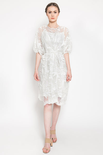 Yara Dress in Off White
