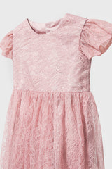Mia Playsuit in Soft Pink
