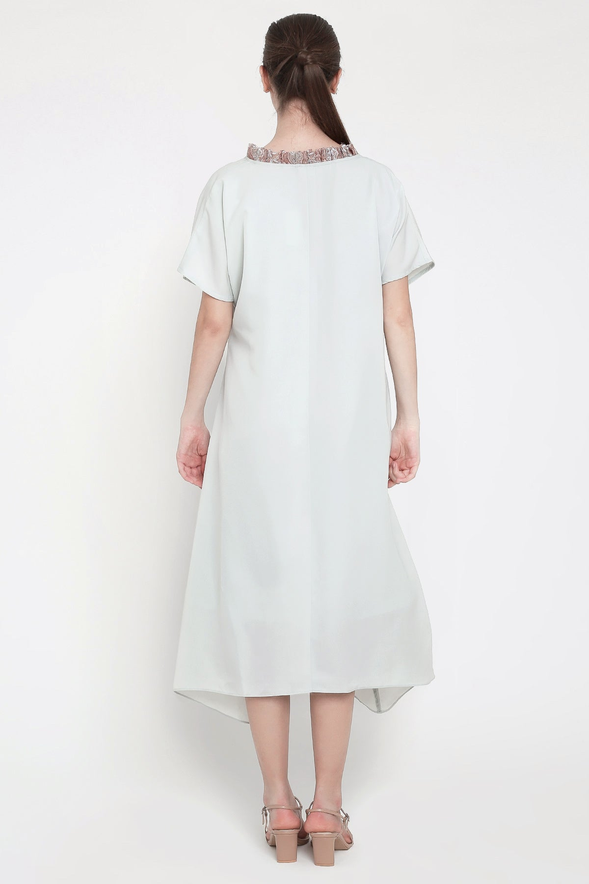 Lipa Dress in Soft Blue