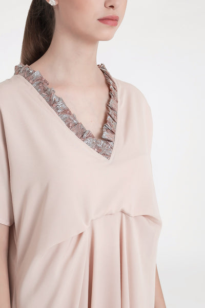 Lipa Dress in Soft Pink
