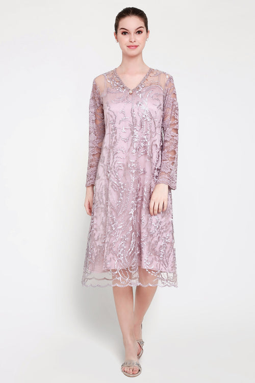 Gavrila Dress in Soft Lavender