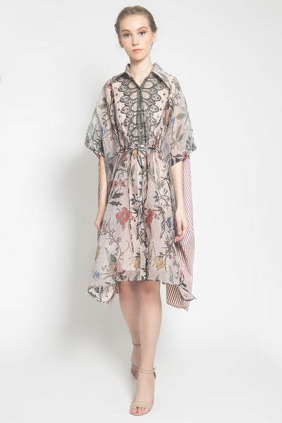 Polly Shirt Dress in Blush Floral