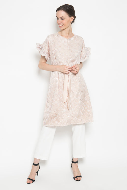 Maia Dress in Nude