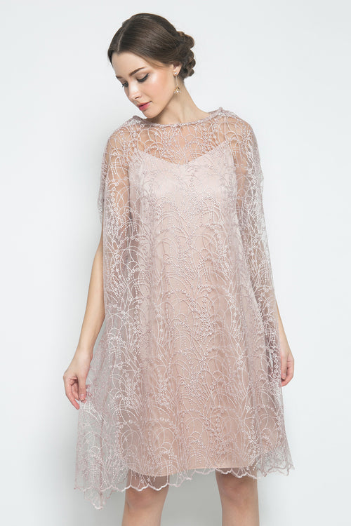 Mary Dress in Dusty Pink