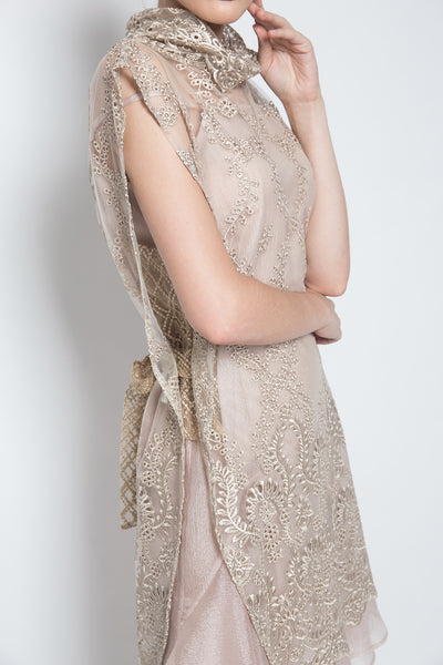 PRU Dress in Champagne
