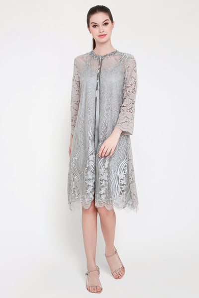 Nina Dress in Grey